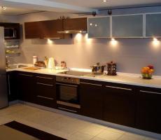 Na zdjęciu: Kuchnia pionowe ujęcie